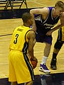 Jerome Randle shoots free throw at 2008 Golden Bear Classic championship game.JPG