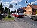 Jesenice (PZ), Budějovická, autobus 335.jpg