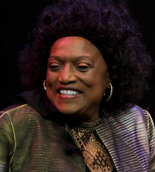 Jessye Norman- In Conversation with Tom Hall cropped (15952002266)