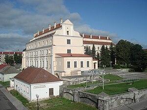 Kazimierz Dembowski - Image: Jesuit Collegium, Pinsk 1