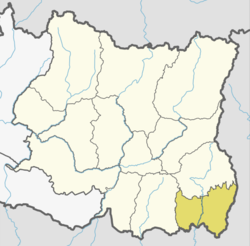 Location of Jhapa