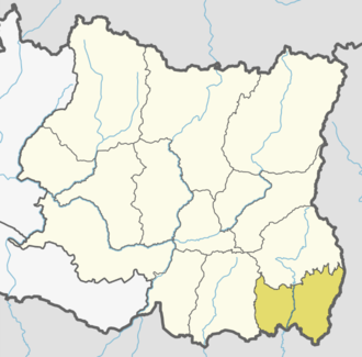 Jhapa District - Location of Jhapa