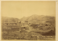 Jiakouyi Settlement with Typical Signs of Destruction Inflicted upon Many Towns by Insurgents. Gansu Province, China, 1875 WDL2073.png