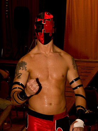 Jigsaw (wrestler) - Jigsaw at an independent wrestling show in July 2012