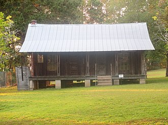 Jimmie Davis - Davis homestead in Jackson Parish