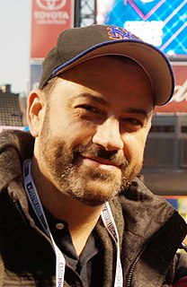 Jimmy Kimmel American talk show host and comedian