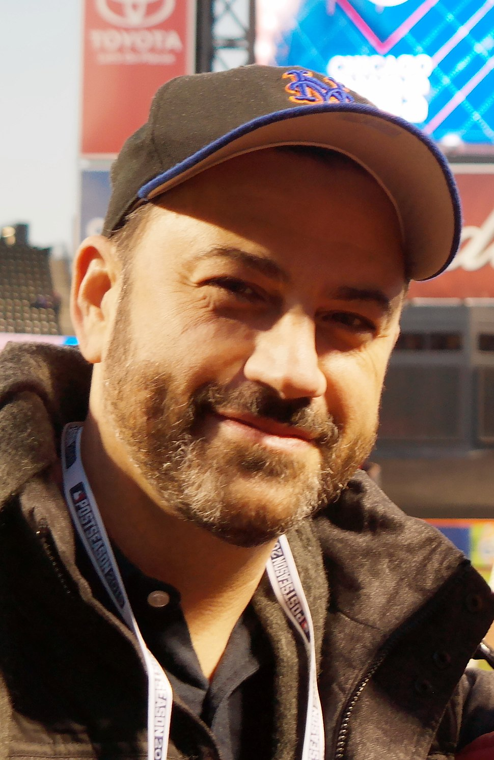 Jimmy Kimmel and Cousin Sal (cropped)