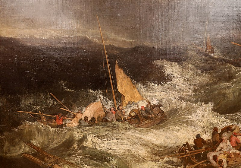 File:Jmw turner, il naufragio, ante 1805, 02.jpg