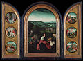 Joachim Patinir (follower of) - Triptych- Rest on the Flight into Egypt - Google Art Project.jpg
