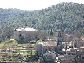 The church and surroundings in Joannas
