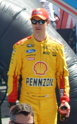 2015 Toyota Owners 400 - Joey Logano, seen here at the 2015 Daytona 500, won the pole for the Toyota Owners 400.