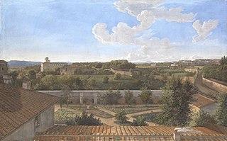 Vedute di Roma da Villa Malta sul Pincio