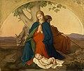 Johann Grund (1808) - Heilige Familie auf der Flucht - 526 - Staatliche Kunsthalle Karlsruhe.jpg
