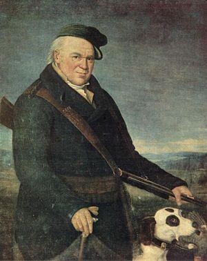 Johann Heinrich Baumann - Johann Heinrich Baumann, self-portrait