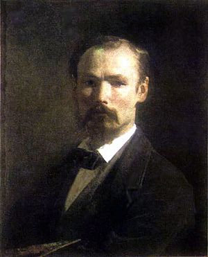 Johann Köler - Johann Köler: Self portrait (1859)