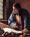 Johannes Vermeer - The Geographer (detail) - WGA24688.jpg