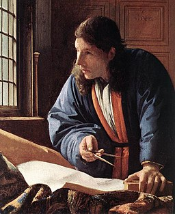 Johannes Vermeer - The Geographer (detail) - WGA24688