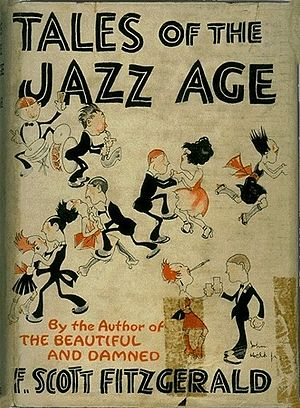 1922 in jazz - Cover of a 1922 edition of F. Scott Fitzgerald's book Tales of the Jazz Age
