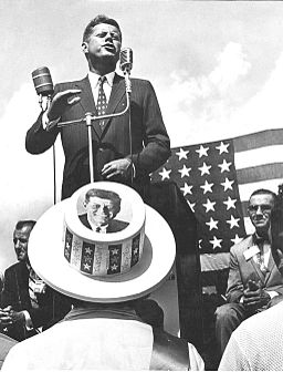 John F. Kennedy campaigning in Florida 1960