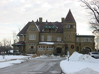 National Register of Historic Places listings in Allen County, Indiana - Image: John H. Bass Mansion