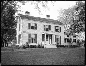 John Mason House (Lexington, Massachusetts) - John Mason House in 1930