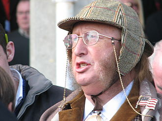 Horse racing in Great Britain - TV presenter, John McCririck