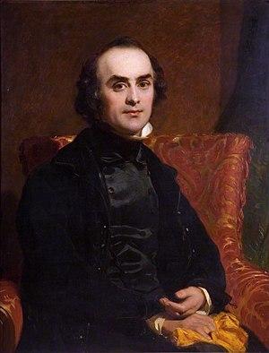 John Prescott Knight - Self portrait, c.1844