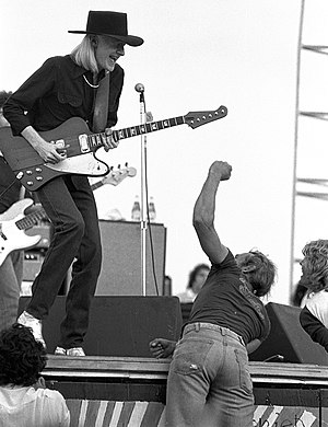 Johnny Winter - Woodstock Reunion, Parr Meadows, Ridge, New York, 1979