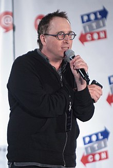 Ronson speaking at Politicon, 2016