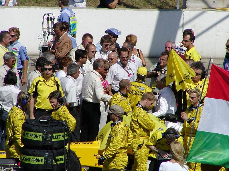 File:Jordan at the start grid at the 2003 Hungarian Grand Prix (2).jpg