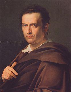 Johann Christian Reinhart painter, engraver
