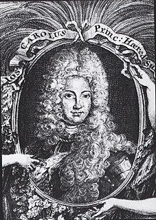 Count Palatine Joseph Charles of Sulzbach Heir apparent of Neuburg, Sulzbach and the Palatinate