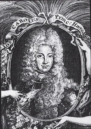 Count Palatine Joseph Charles of Sulzbach
