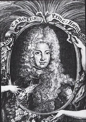 Count Palatine Joseph Charles of Sulzbach - Image: Joseph Karl von Pfalz Sulzbach a