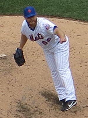 Josh Edgin - Edgin with the Mets in 2017