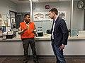 Josh Harder visits Stanislaus Emergency Services 02.jpg