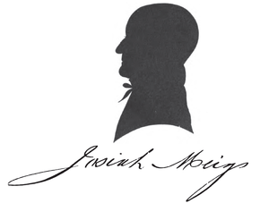 Josiah Meigs - 1813 or 1814 silhouette