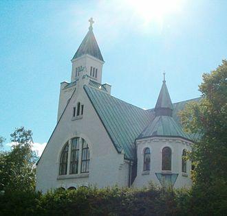 Joutseno - Joutseno church.