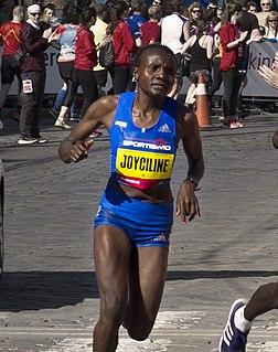 Joyciline Jepkosgei Kenyan long-distance runner