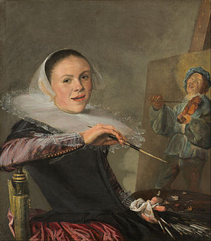 1630 in art - Self-portrait by Judith Leyster