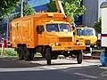 Jugoslávských partyzánů, rekonstrukce trati, svářecí automobil.jpg
