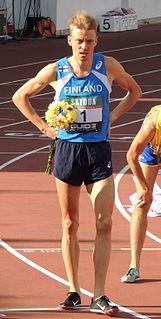 Jukka Keskisalo Finnish athletics competitor