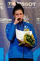 Julia Beljajeva podium 2013 Fencing WCH EFS-IN t214608.jpg