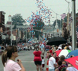 Downtown Elizabethton, July 4th parade (2008).