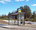 Jyväskylä bus stop on Lohikoskentie.jpg