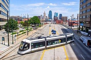 streetcar in Kansas City, Missouri