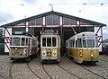 KS 100, KS 575 and KS 701 at Sporvejsmuseet.JPG