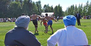 Kabaddi - Punjab Circle Style match in Canada