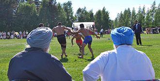 Kabaddi - Punjab Circle Style match in Canada