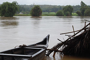 Kabini River - Kabani River from Kabanigiri, Kerala